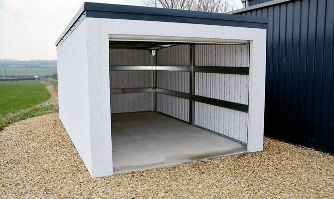 Flat Roof Garage Plans Homebeatiful Amazing Clipgoo