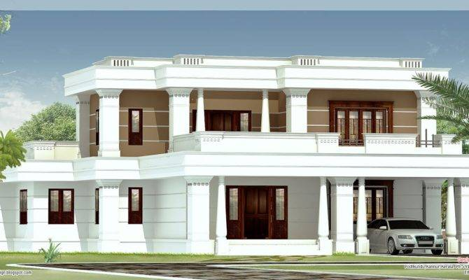 Flat Roof Plans House