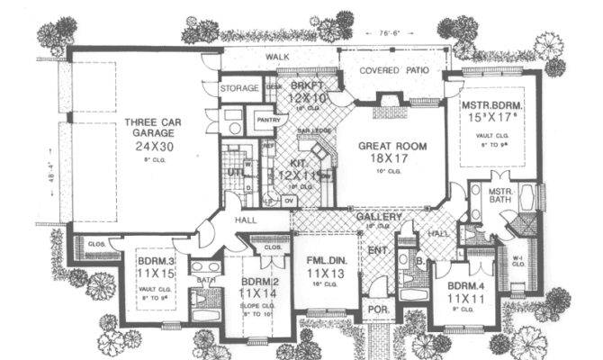 Flint Hill Country French Home Plan House