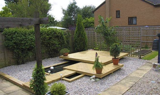 Floating Deck Landmark Garden Design