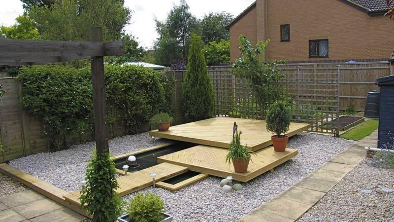 Floating Deck Landmark Garden Design