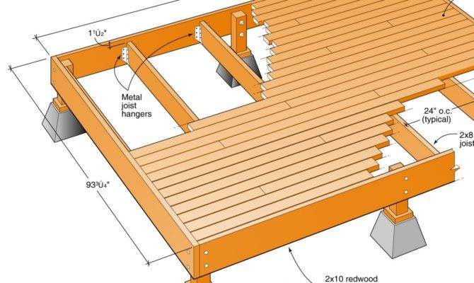 Floating Deck Plans Canada Magnificent Vernon