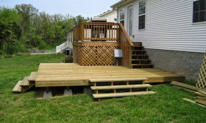 Floating Deck Plans