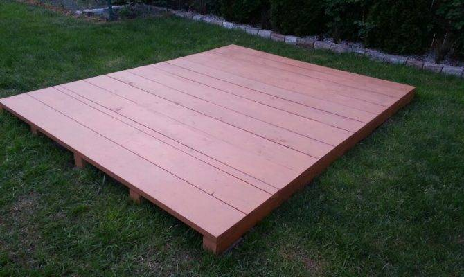 Floating Pallet Deck Cool Pinterest