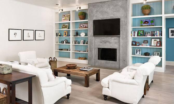 Floor Ceiling Fireplace Design Ideas