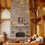 Floor Ceiling Fireplace Living Room Modern Fireplaces Vancouv
