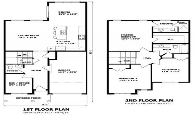 Floor House Plans There More Simple Small