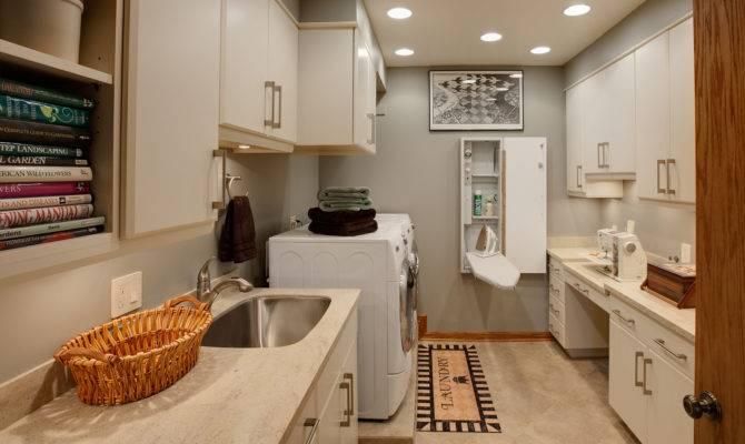 Floor Laundry Room Drury Design