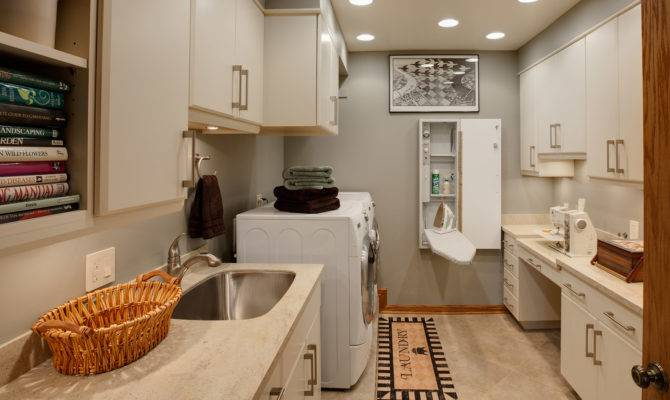 Floor Laundry Room Drury Design