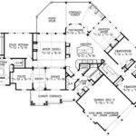 Floor Plan Amusing House Plans Endearing Ranch