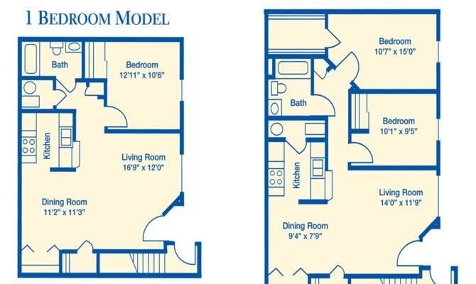 Floor Plan Apartment Bedroom Plans