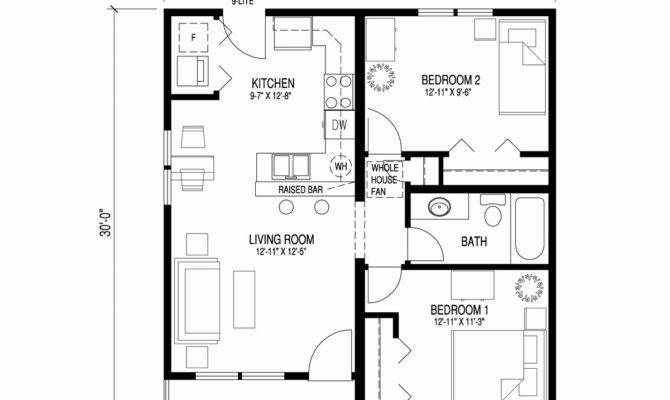 Floor Plan Bedroom Bath New Story House Plans