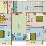 Floor Plan Bedroom Flats Navami Akshai