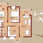 Floor Plan Bedroom Flats