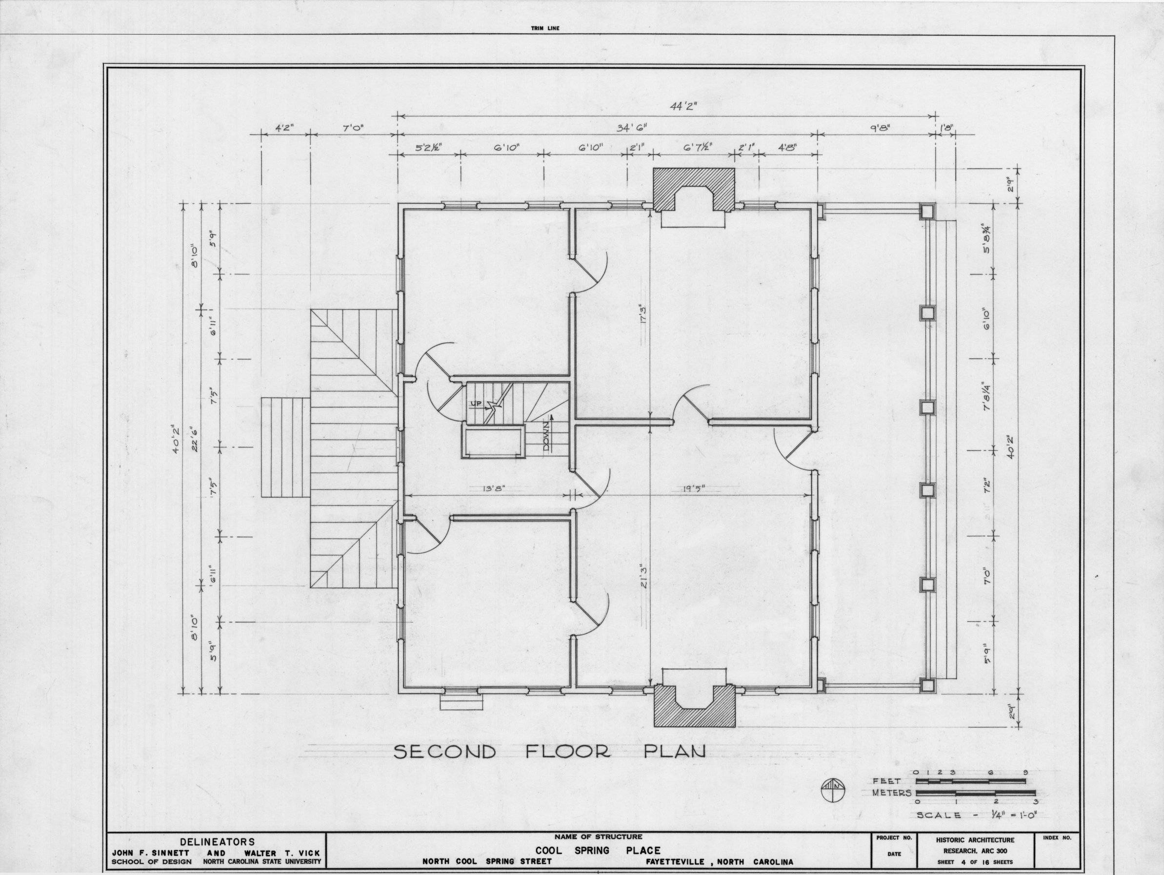 Floor Plan Cool Spring Place Fayetteville North Carolina