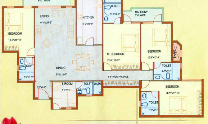 Floor Plan Dlf Westend Heights Gurgaon