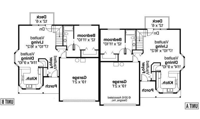 Floor Plan Duplex Plans