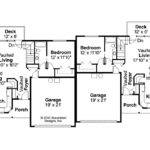 Floor Plan Duplex Plans