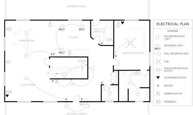 Floor Plan Example Traditional House