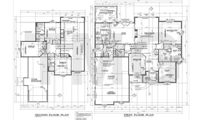 Floor Plan Examples Samples House Plans Building