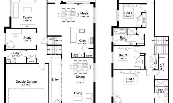 Floor Plan Friday Split Level Bedroom Study