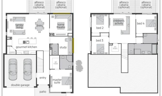 Floor Plan Friday Split Level Home