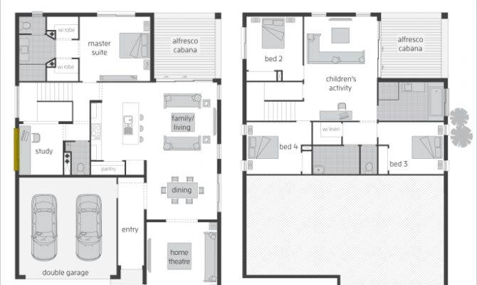 Floor Plan Friday Split Level Rear