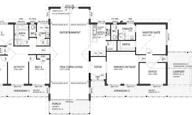Floor Plan Friday Views Semi Rural Setting