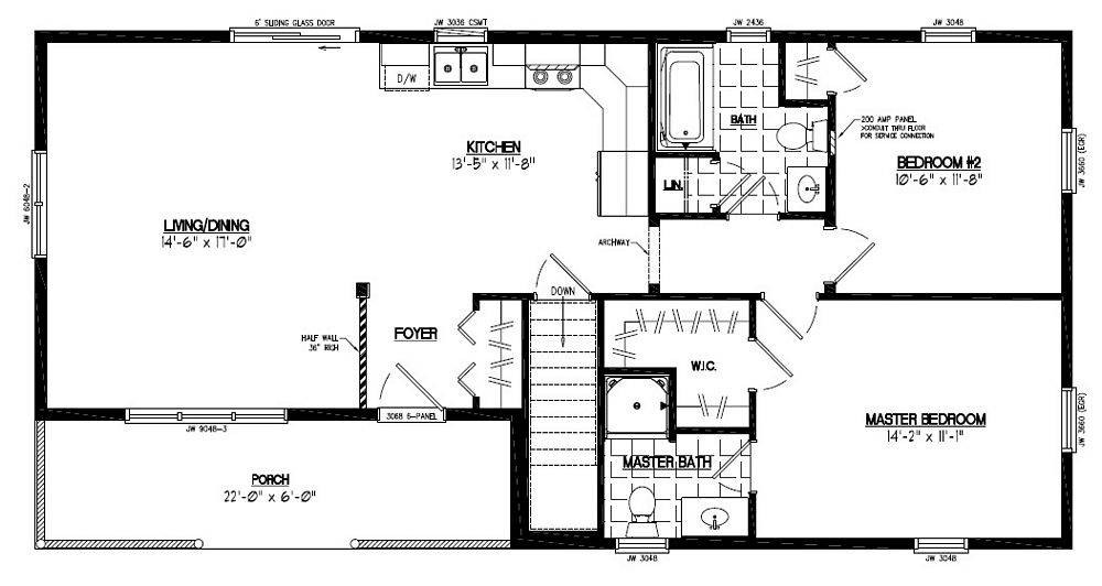 Floor Plan Frontier Certified