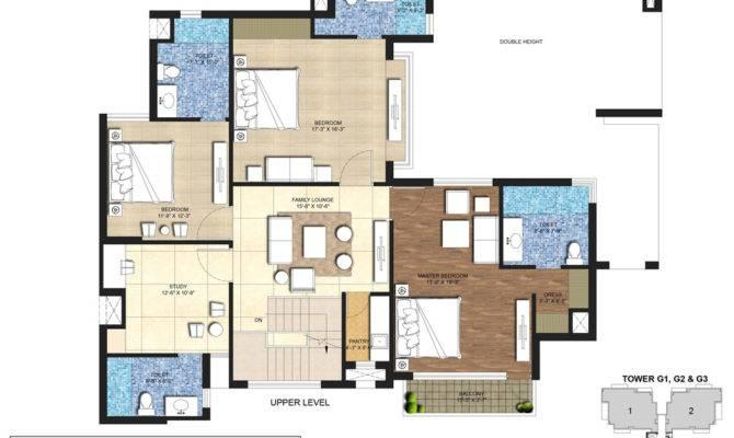 Floor Plan Indiabulls Centrum Park Gurgaon India Bulls