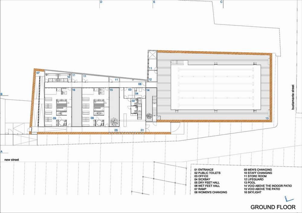Floor Plan Indoor Pool Omahdesigns