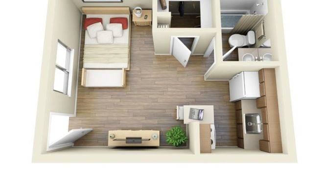 Floor Plan Studio Apartment Design Life Pinterest