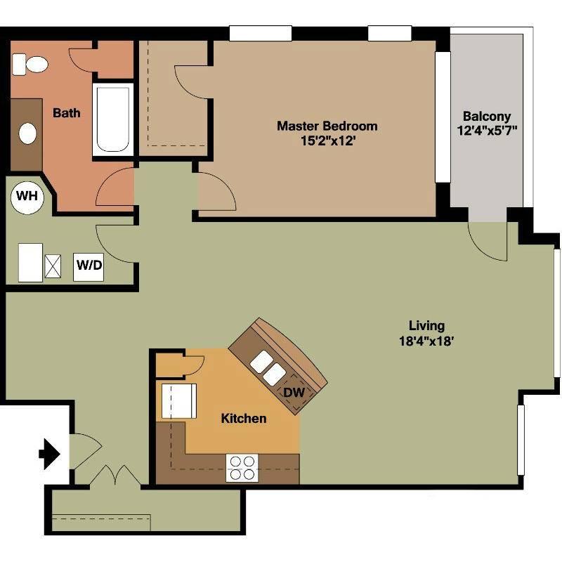 Floor Plan Style Jackson Square