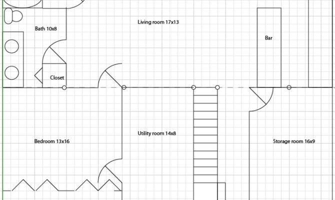 Floor Plans Basement Walkout House