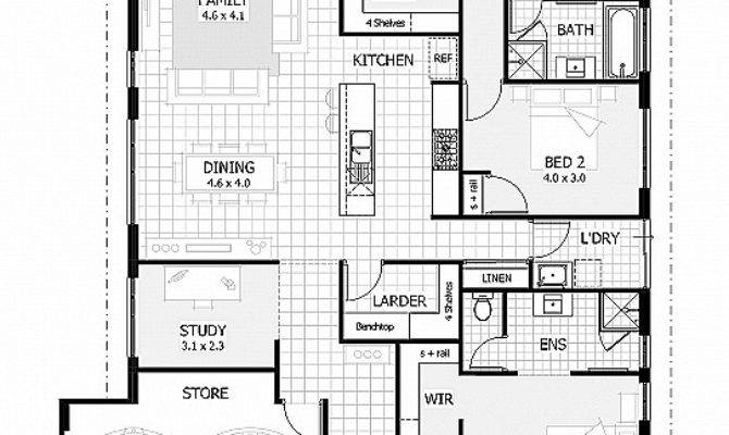 Floor Plans Bungalows Basement New House Plan