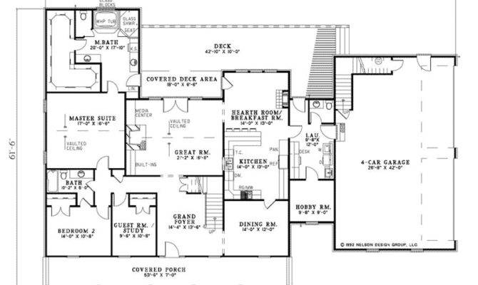 Floor Plans Country Homes House Plan First