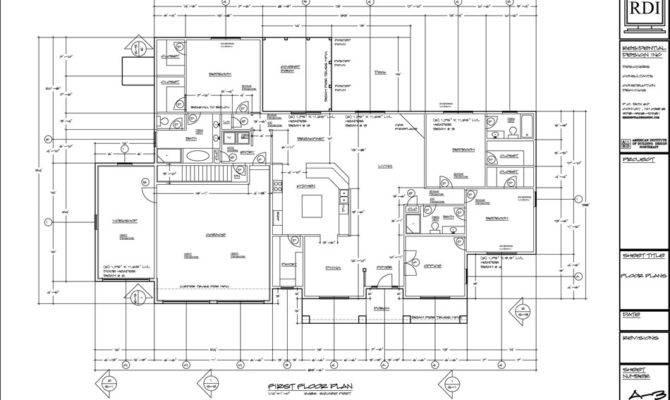 Floor Plans Drawings Residential Design Inc
