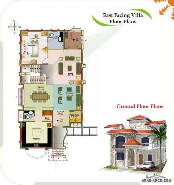 Floor Plans Luxury Spanish Villas Arab Arch