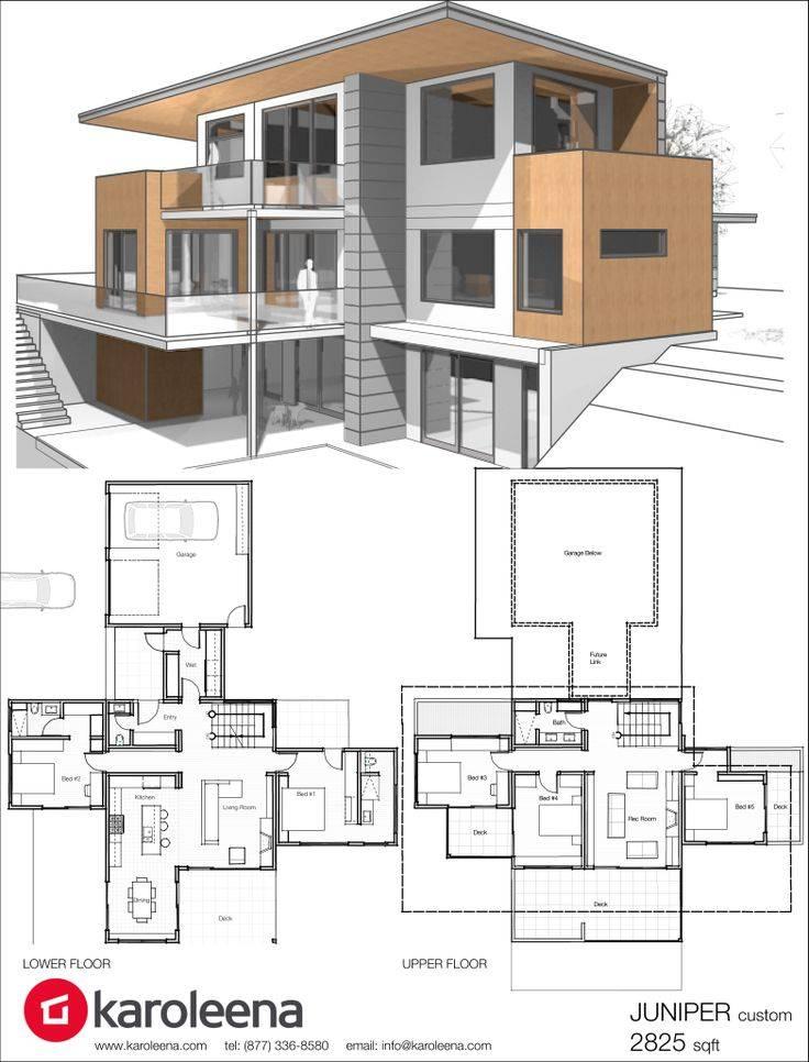 Floor Plans Modern Homes