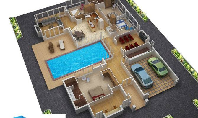 Floor Plans New Homes Architectural House Plan Building