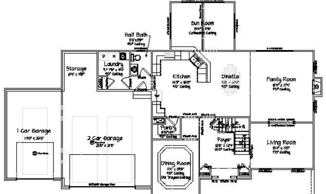 Floor Plans New Homes Dream Home House