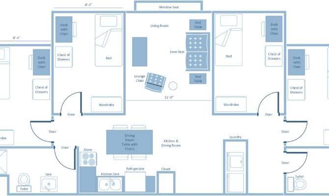 Floor Plans Penn State University Park Housing