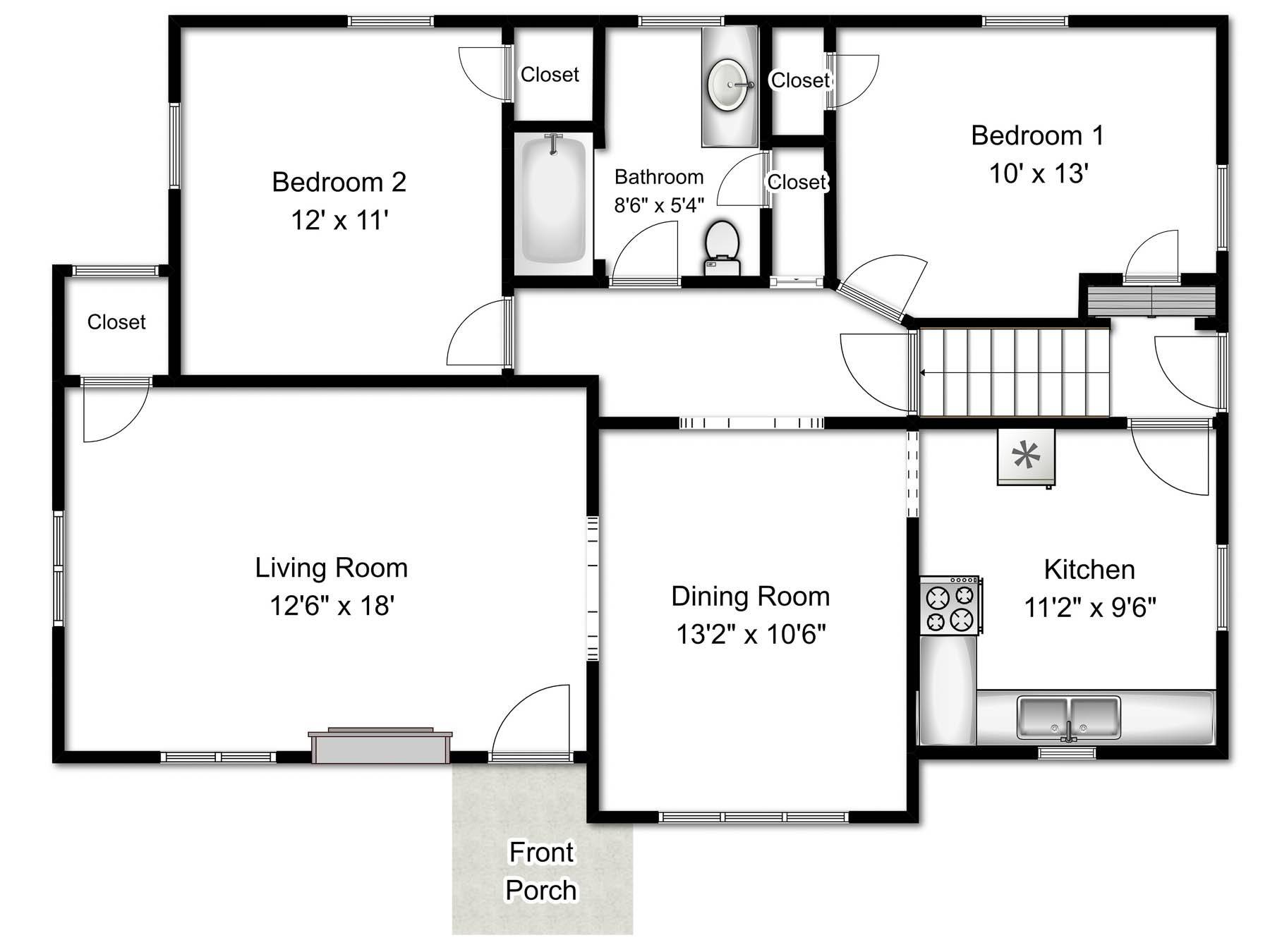 Floor Plans Real Estate Photography