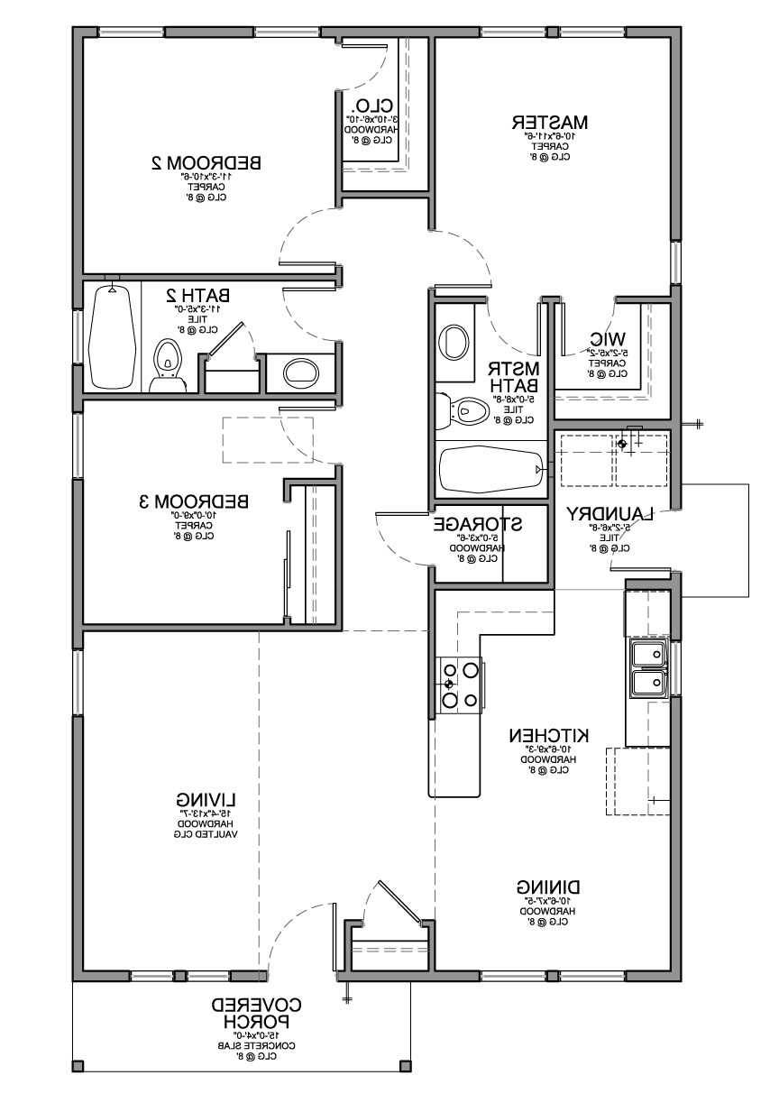 Floor Plans Small Houses Bedrooms Ideas