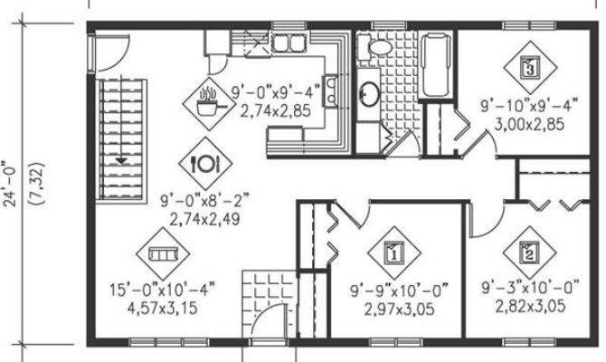 Floor Plans Small Ranch Homes Luxury Main Plan