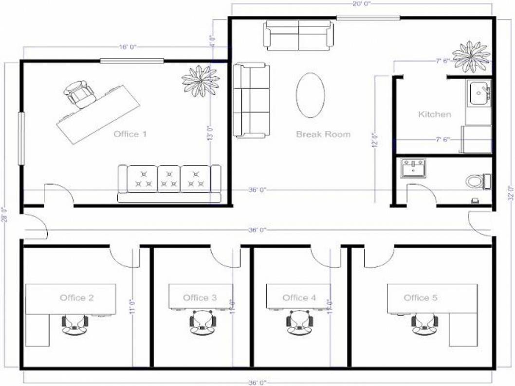 Floor Plans Using Plan Maker Architect