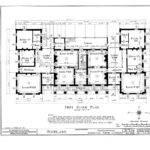 Floor Plans Woodlawn Plantation Mansion Napoleonville Louisiana