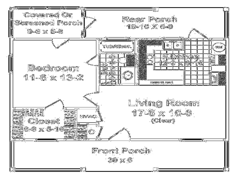 Flooring Floor Plans Small Houses Rear Porch