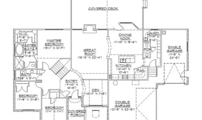 Floors Plans House Big Rambler