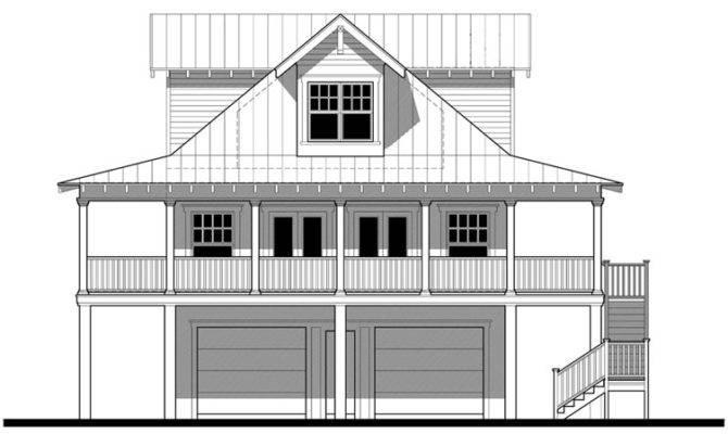 Florida Cracker House Plan Chp Coolhouseplans